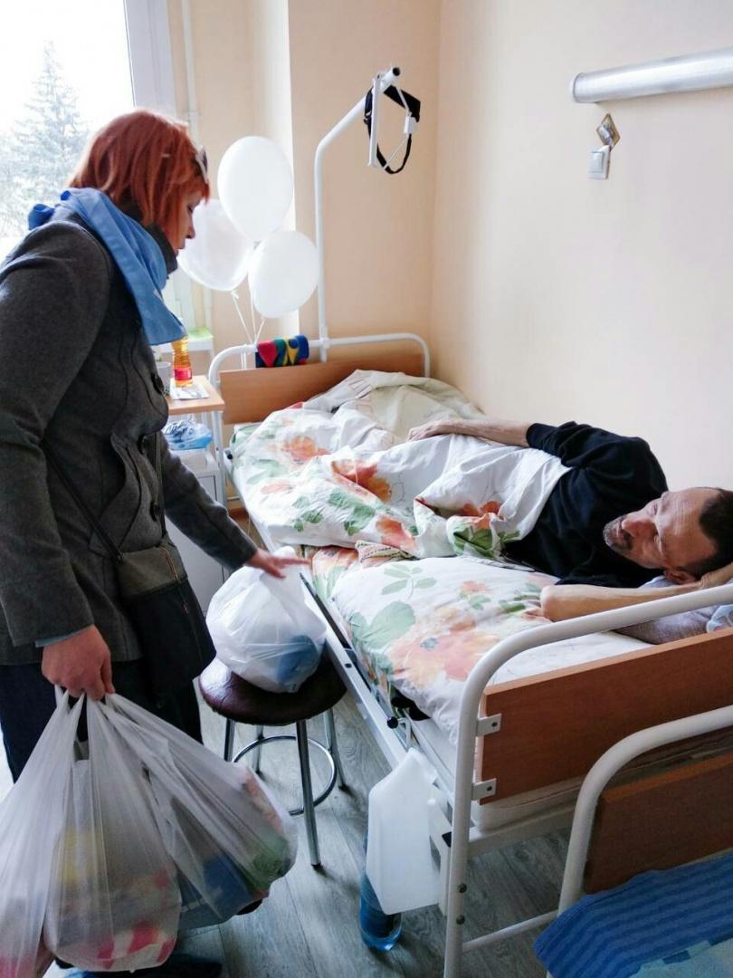 Пациенты хосписа фото